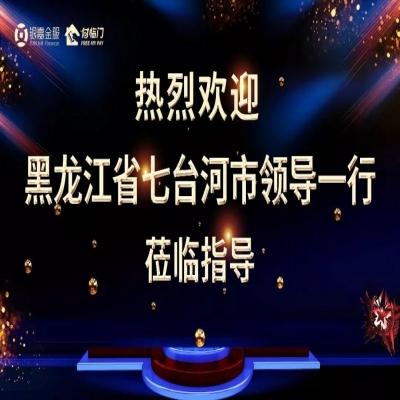 精诚合作 携手并进 | 黑龙江省七台河市领导一行莅临银嘉集团考察指导